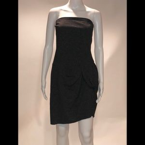 2B.Rych black strapless dress